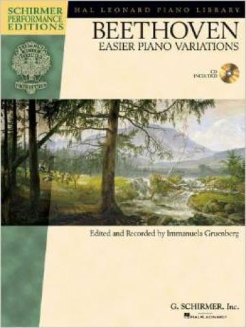 Beethoven Easier piano Variations